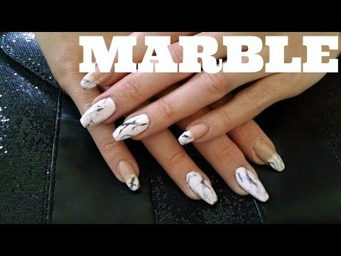 How To Do Marble Nail Art Youtube Nt Youtube Channel