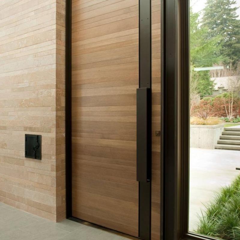 Spiksplinternieuw Houten voordeur prijzen (met afbeeldingen) | Houten voordeuren MM-95