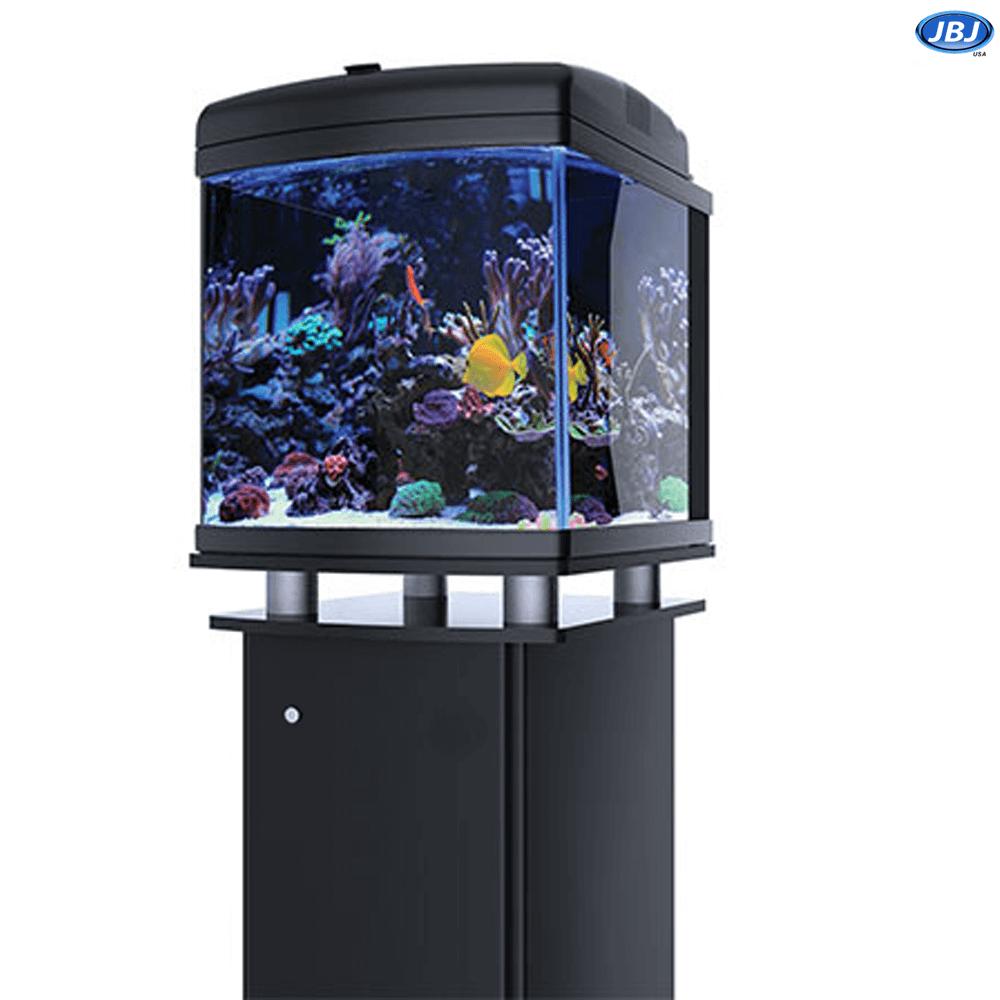 Jbj 28 Gallon Nano Cube Led Aquarium With Cabinet Stand On Sale 669 97 Aquarium Aquarium Systems Led
