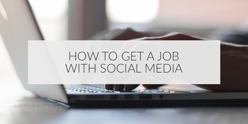 #SocialMedia can help you get a job!