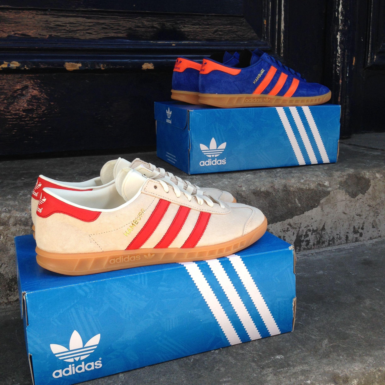 The eagerly awaited adidas Hamburg has