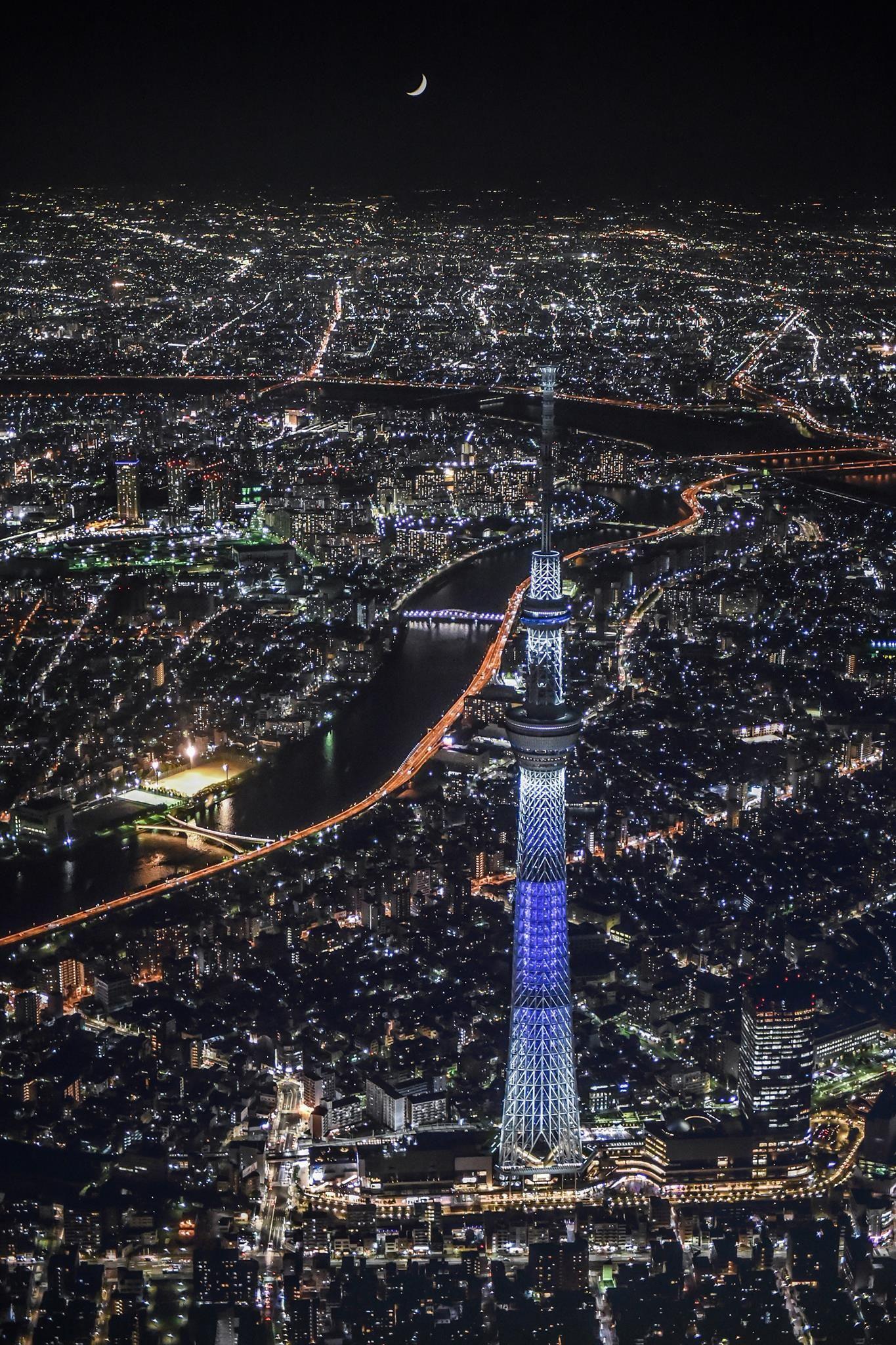 Editor S Choice 東京 風景 夜景 壁紙 都市景観