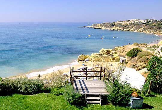 Albufeira Praia D Oura Olhos Água Santa Eulália Portugal Villa Resort Guide