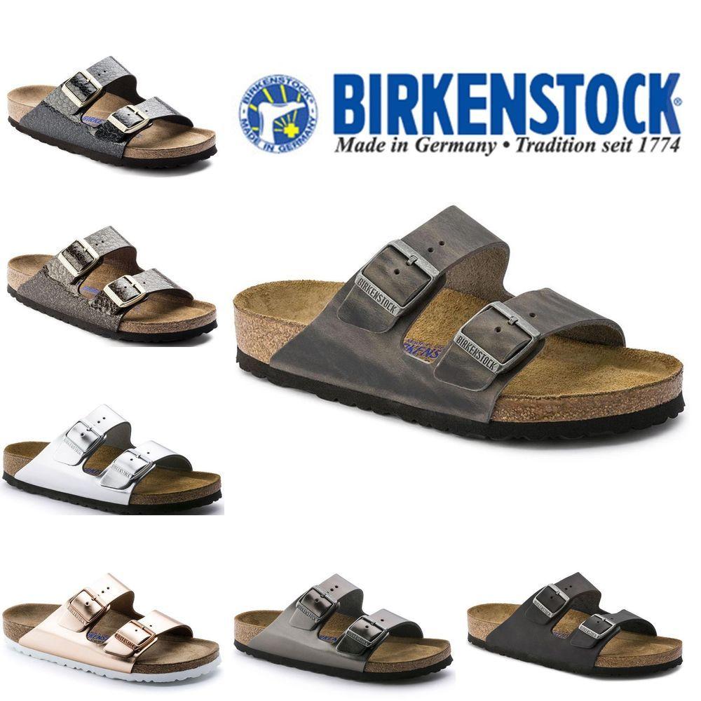 5d620c5eb61a BIRKENSTOCK Arizona Soft Footbed Oiled Leather Flip Flops - ALL COLORS   Birkenstock  FlipFlops