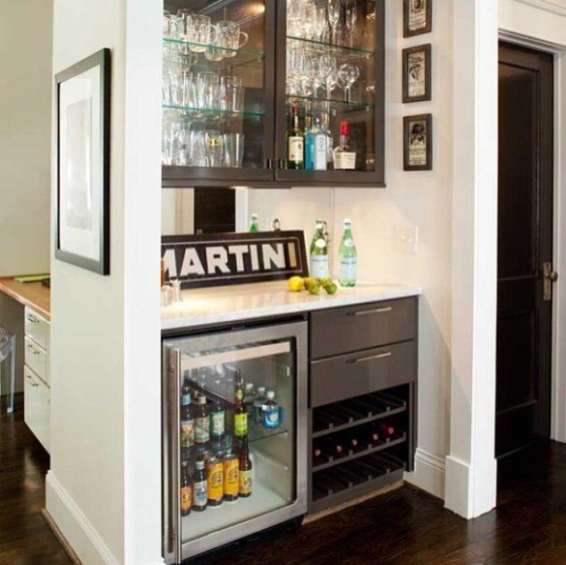 Kitchen minibar home deco pinterest kitchens bar - Como decorar un bar ...