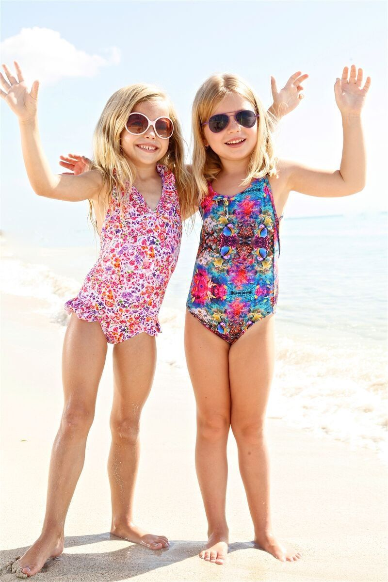 f13f25290281 Buying this swimsuit is such an awesome way to start her exposure to a  world beyond her own.  designerkids