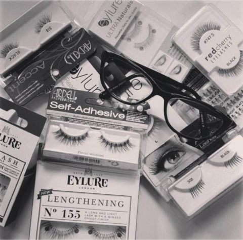 b722b3e3dbc Lashes & Lenses: How to Wear False Eyelashes with Glasses in 2019 ...