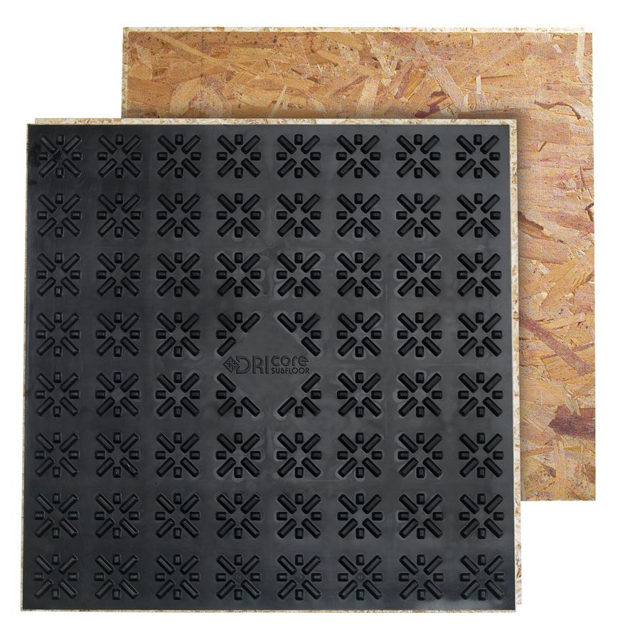Shop DRIcore 7/8 X 2 X 2 OSB Sheathing At Lowes.com For