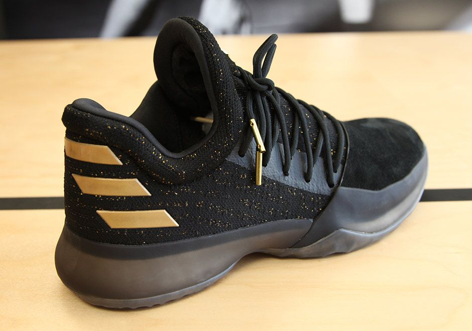 adidas Harden Vol. 1 Black Gold | James harden, Continue reading and Color  blocking