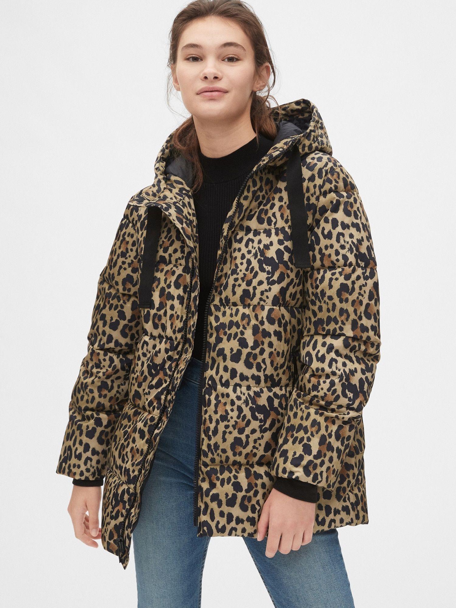 Coldcontrol Max Hooded Print Puffer Jacket Gap Coats Jackets Women Coat Jackets [ 2000 x 1500 Pixel ]