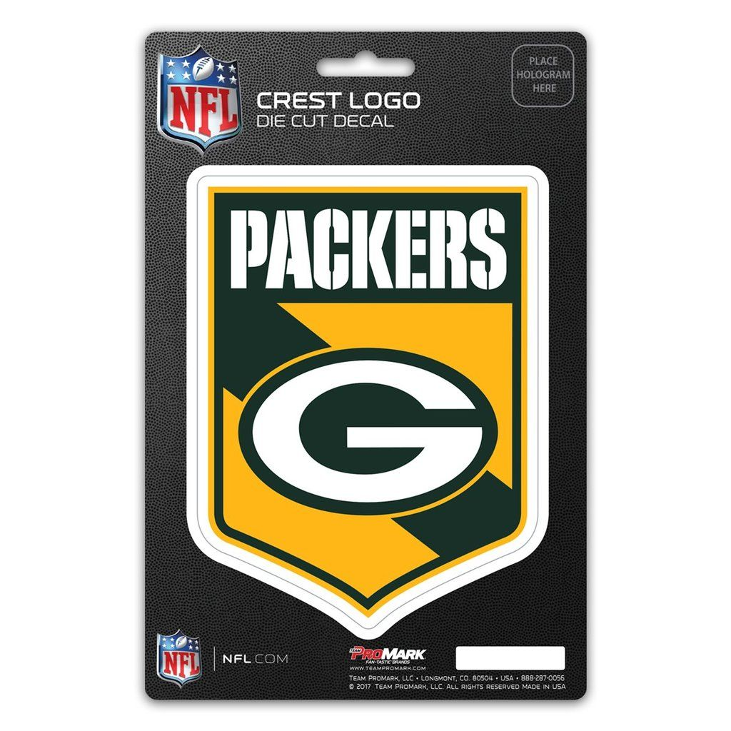 Green Bay Packers Decal Shield Design Crest logo