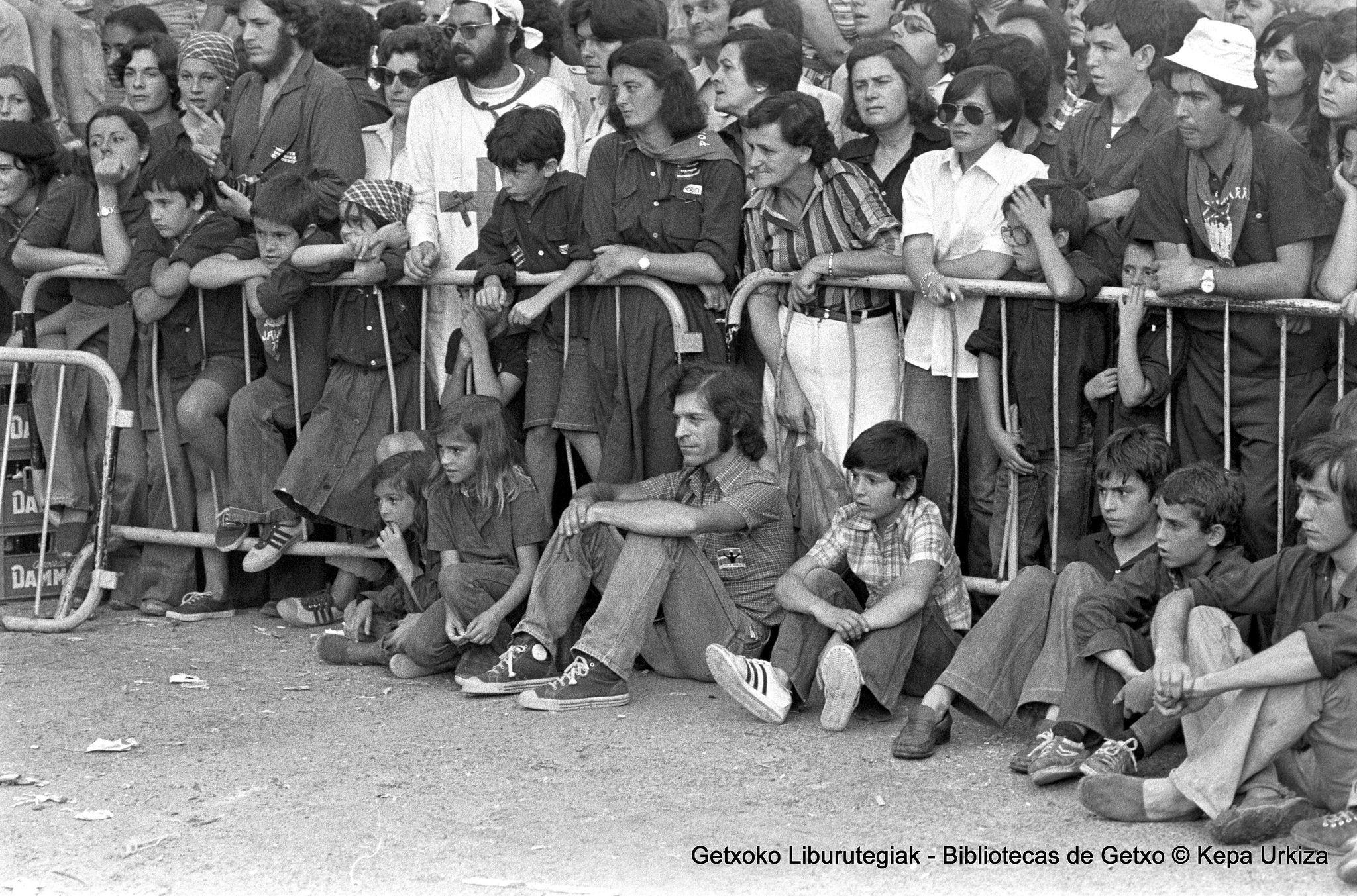 Portu Zaharreko jaiak / Fiestas del Puerto Viejo, 1977 (Colección Kepa Urkiza) (ref. KU03138)