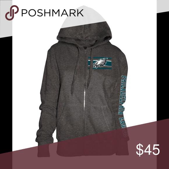 super popular 54540 a671f NWT Philadelphia Eagles Zip Up Hoodie Sweatshirt ...