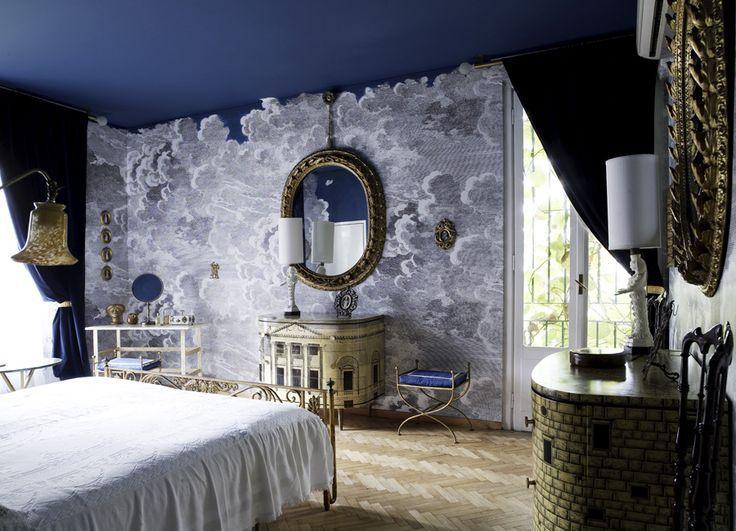 Fornasetti Nuvole Wallpaper Www Theodonnellcollective Com