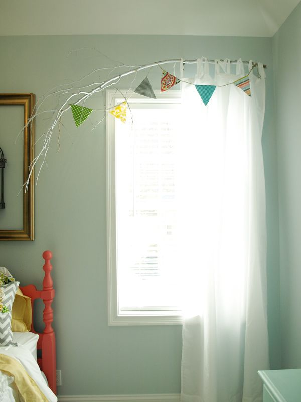 Tree Branch Curtain Rod Branch Curtain Rods Diy Curtain Rods