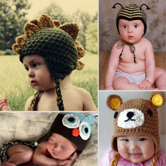 LilSugar\'s 9 Adorable Animal Hats for Little Ones | Cute 4 Kids ...