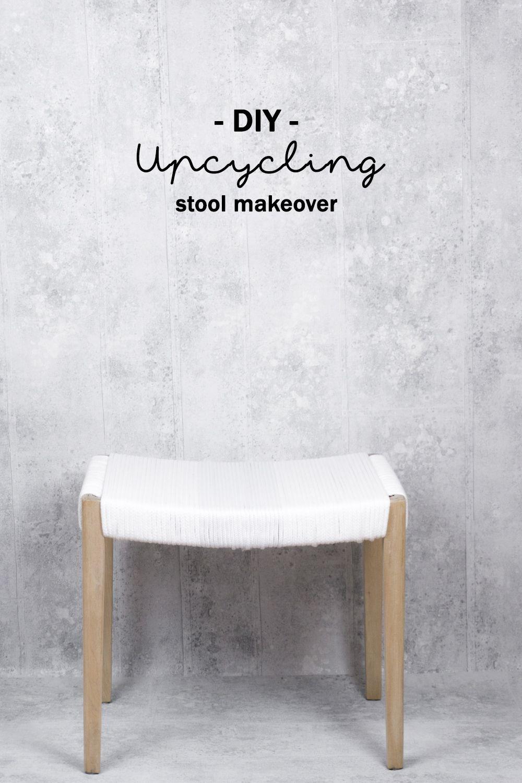 upcycling möbel: so lässt sich ein hocker aufarbeiten | diy möbel