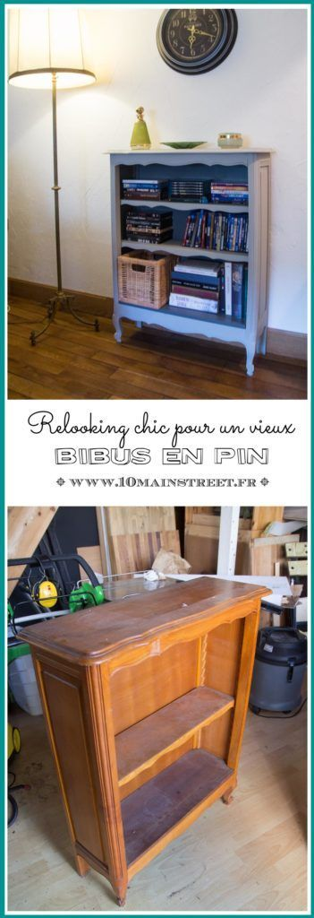 Relooking Chic Pour Un Vieux Bibus En Pin Trouve Chez Emmaus Relooking De Mobilier Bibus Relooking Meuble