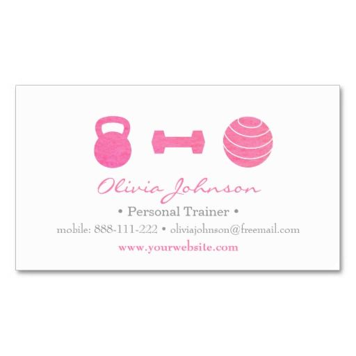 Pin On Fitness Business Cards Ideas
