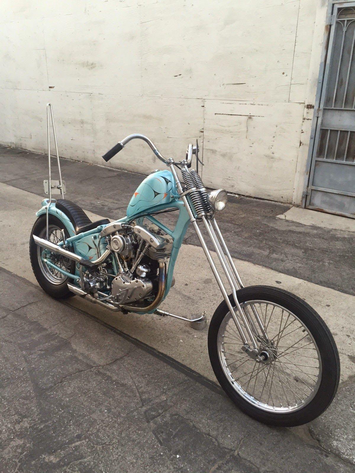 Harley Davidson Bobber Frames For Sale