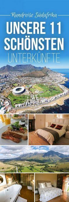 Südafrika: Die 11 schönsten Unterkünfte von Johannesburg bis Kapstadt