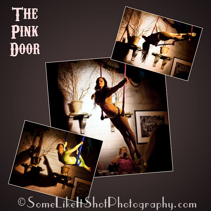The Pink Door Italian Restaurant - downtown Seattle with aerial performance while you eat!  & The Pink Door Italian Restaurant - downtown Seattle with aerial ...