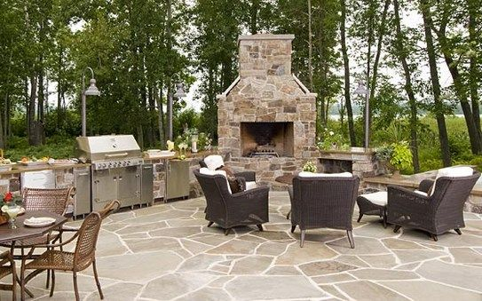 Fresh Ideas Outdoor Kitchen With Fireplace Marvelous Outdoor Kitchen With Fireplaces And Furniture Design Modern Outdoor Kitchen Outdoor Kitchen Design Patio