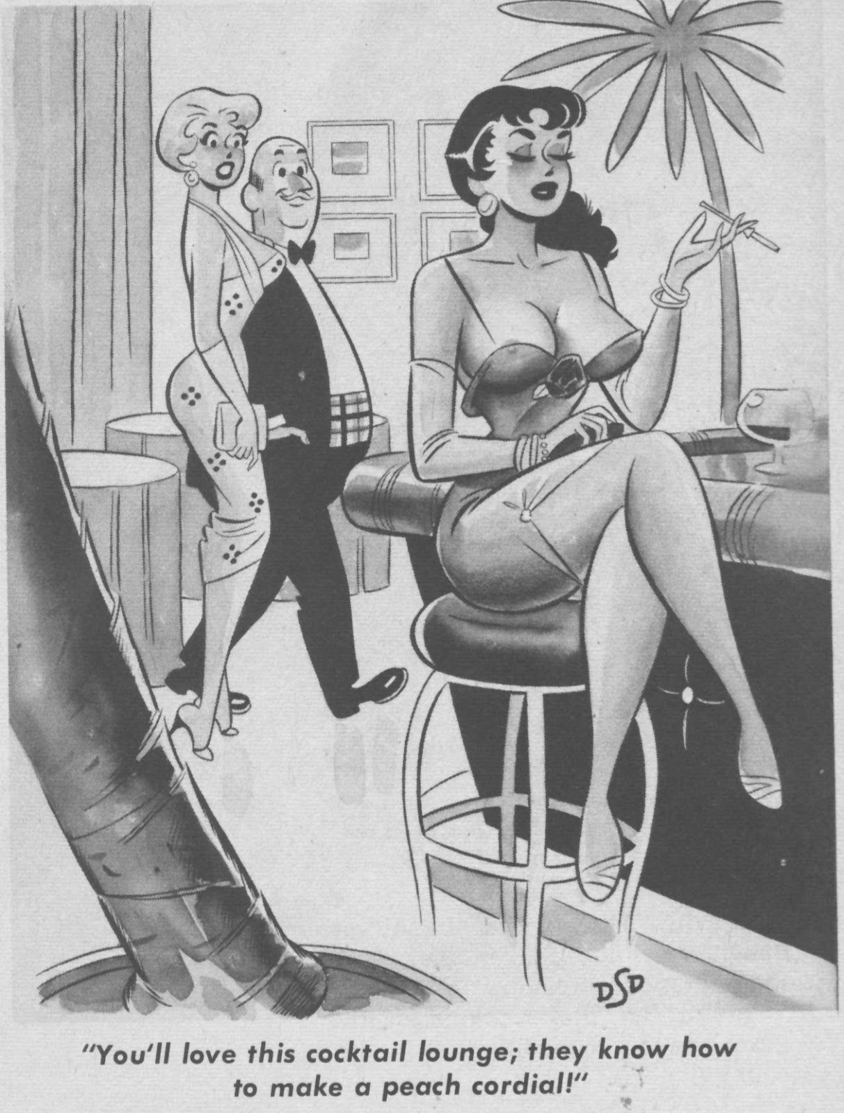 vintage adult cartoons