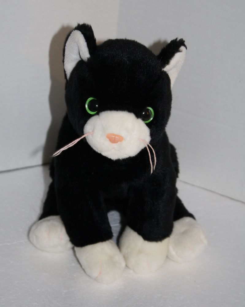 5c887a87c19 Very cute Ty Plush Zip the Cat Beanie Buddies 12