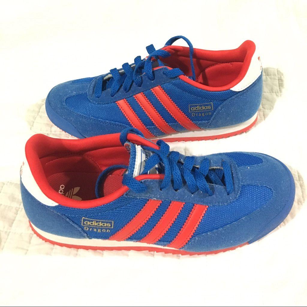 adidas dragon blue size 5