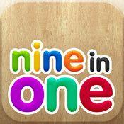 6in1 children games incluye la demostración de 6 juegos educativos relacionados con la lógica, la memoria y el cálculo.
