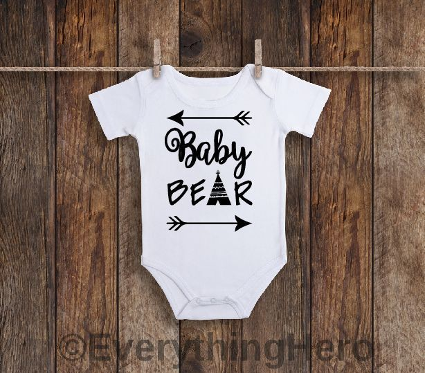 448fb41a6 Baby bear Onesie®, Baby Clothes, Baby Girl Clothes,Baby Boy Clothes, Baby  shower gift, Welcome baby gift, Going home outfit #babyclothesdisney