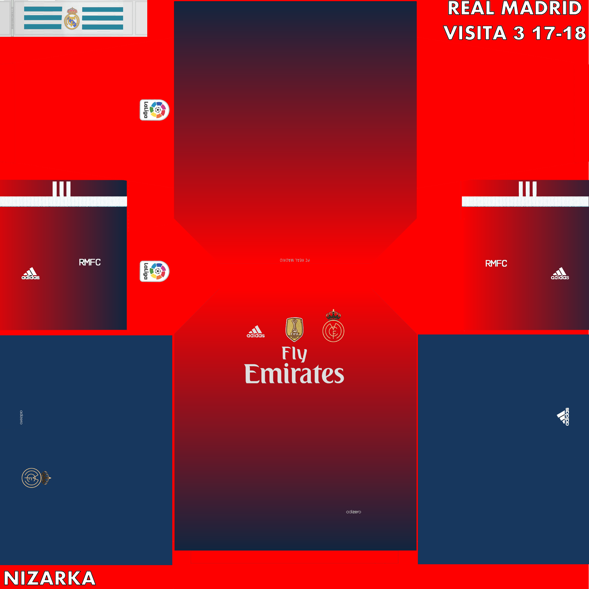 Real Madrid 2048 X 2048 Pes Visita