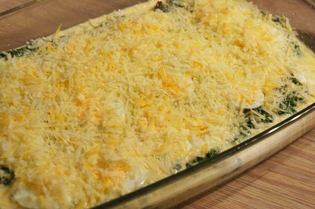 Recept   Spinazie ovenschotel
