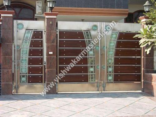 Stainless steel gate manufacturer service provider supplier trading company modern main designslatest also vk chandra vkchandra on pinterest rh