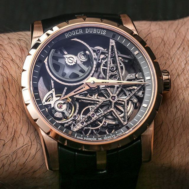 8b657f1d0a8 Roger dubuis excalibur automatic skeleton watch ablogtowatch jpg 640x640  Excalibur skeletonised watch