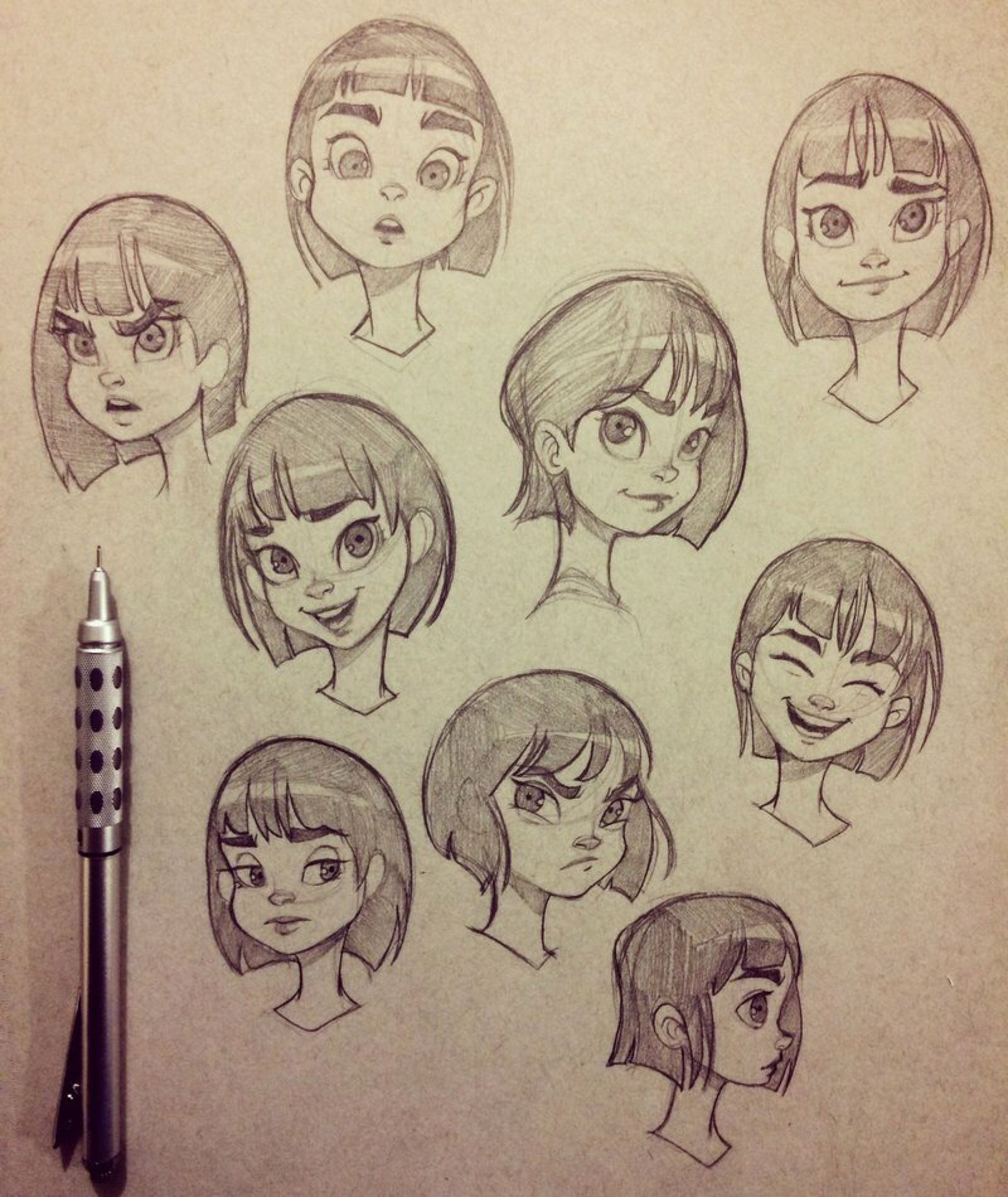 Photo of Facial Expression Exercises by ChrissieZullo on DeviantArt