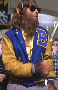 Mens Werewolf Wig Horror Halloween Fancy Dress Wolfman Wolverine Teen Wolf
