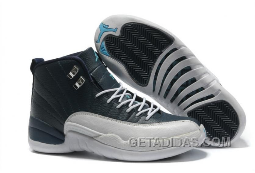 Buy New Air Jordan 12 Retro Obsidian White French Blue Christmas Deals  PzmNHs from Reliable New Air Jordan 12 Retro Obsidian White French Blue  Christmas ... f978a0472