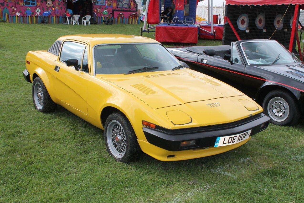 Triumph TR7 (LOE 110 P) | triumph TR7 coupe | Pinterest | British ...
