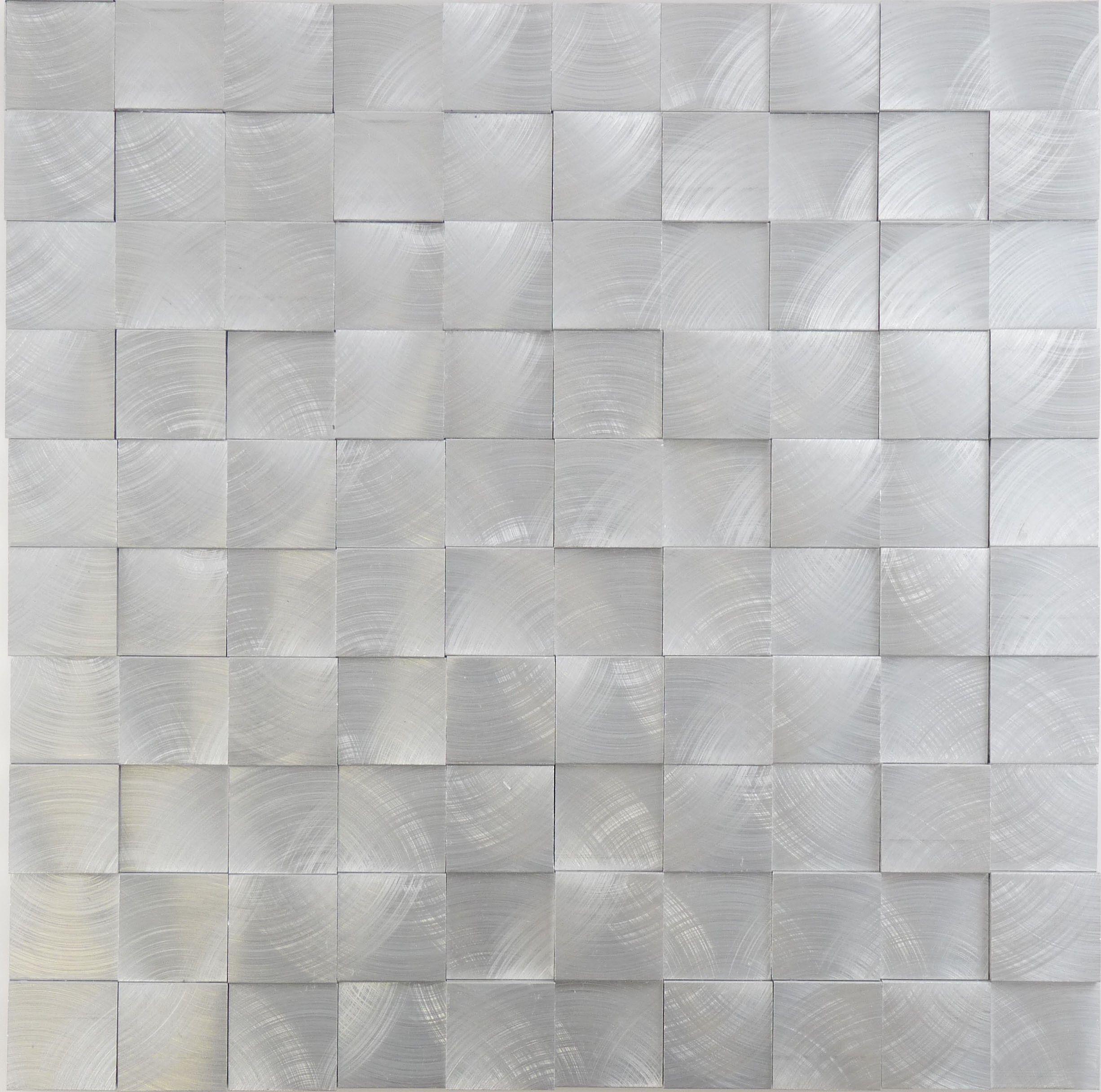 Sheet Size 11 7 X2f 8 Quot X 11 7 X2f 8 Quot Tile Size 1 1 X2f 8 Quot X 1 1 X2f 8 Quot Tiles Per Sheet Tiles Metal Tile Stainless Steel Tile