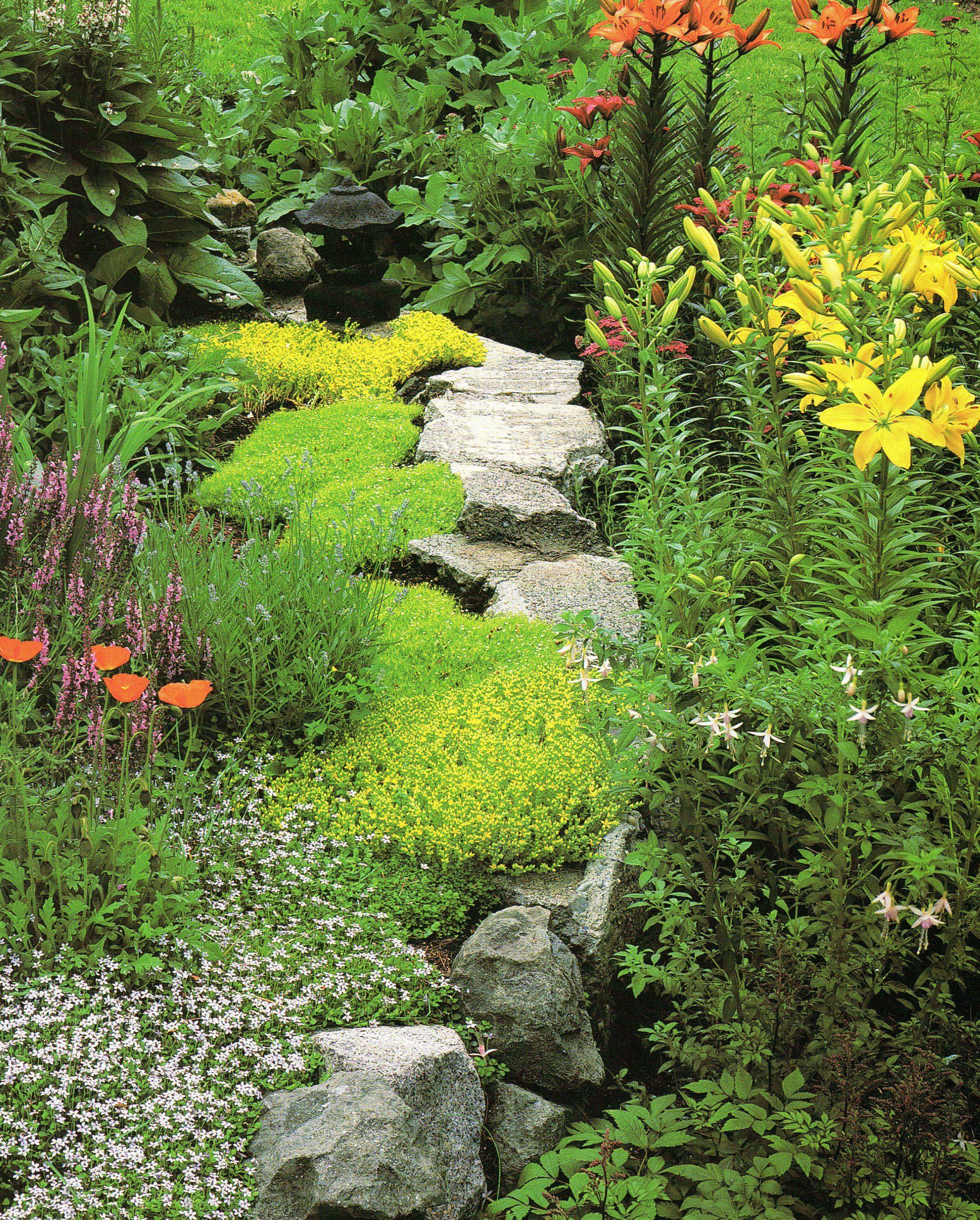 Landscape flower garden  pretty flower garden  My Pretties Yard  Pinterest  Pretty