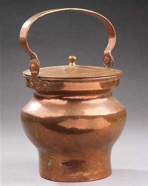 Barselspotte af kobber - 1800-tallet