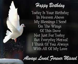 Happy Birthday Message And Prayer ~ Images of happy birthday wishes for dad in heaven birthday wishes