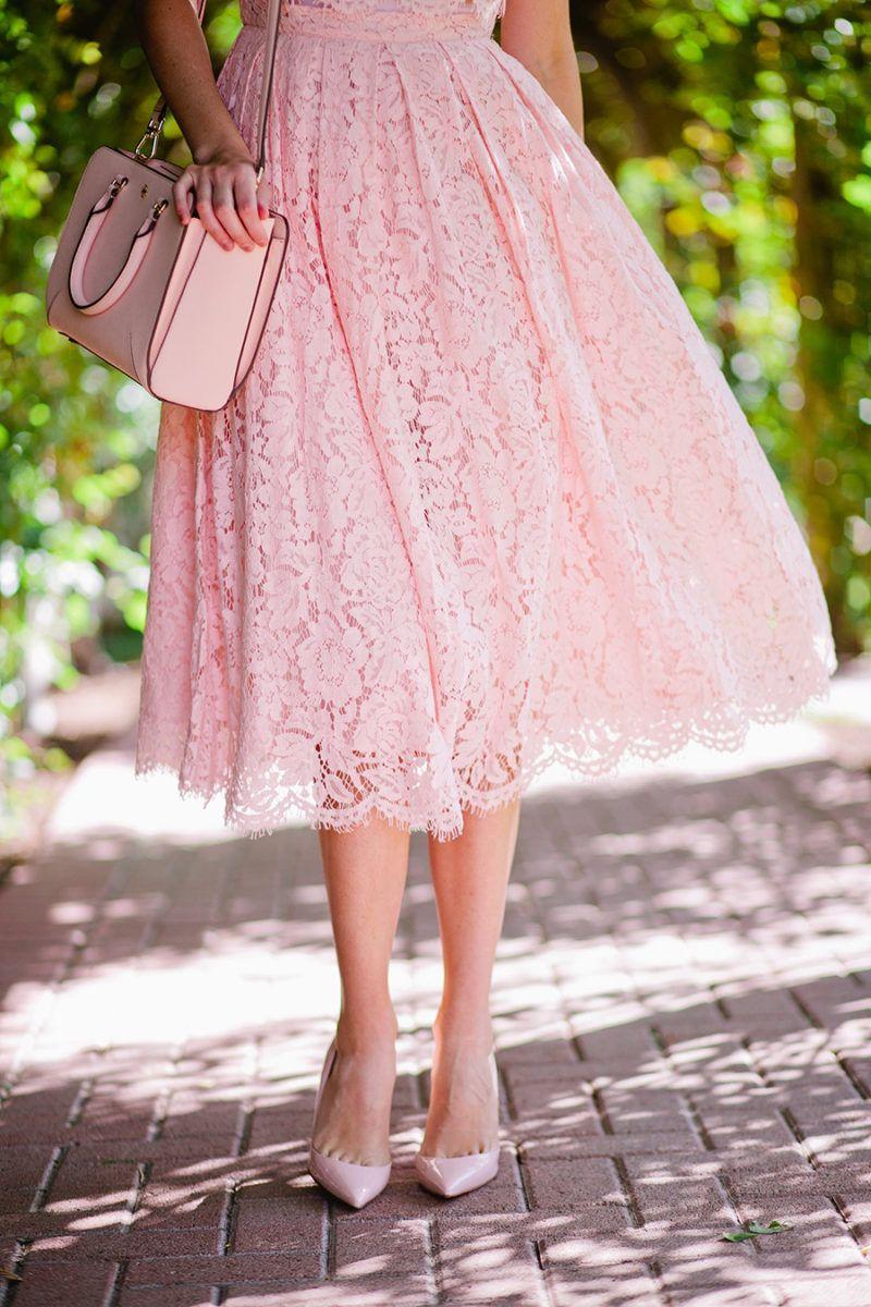 Pink X 3 | My Style | Pink fashion, Pink lace, Pink