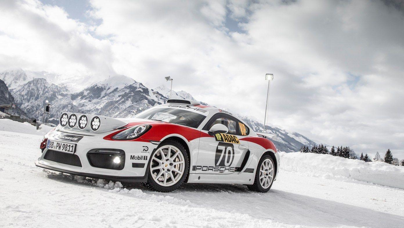 2020 Porsche 718 Cayman GT4 Clubsport RGT rally car (With