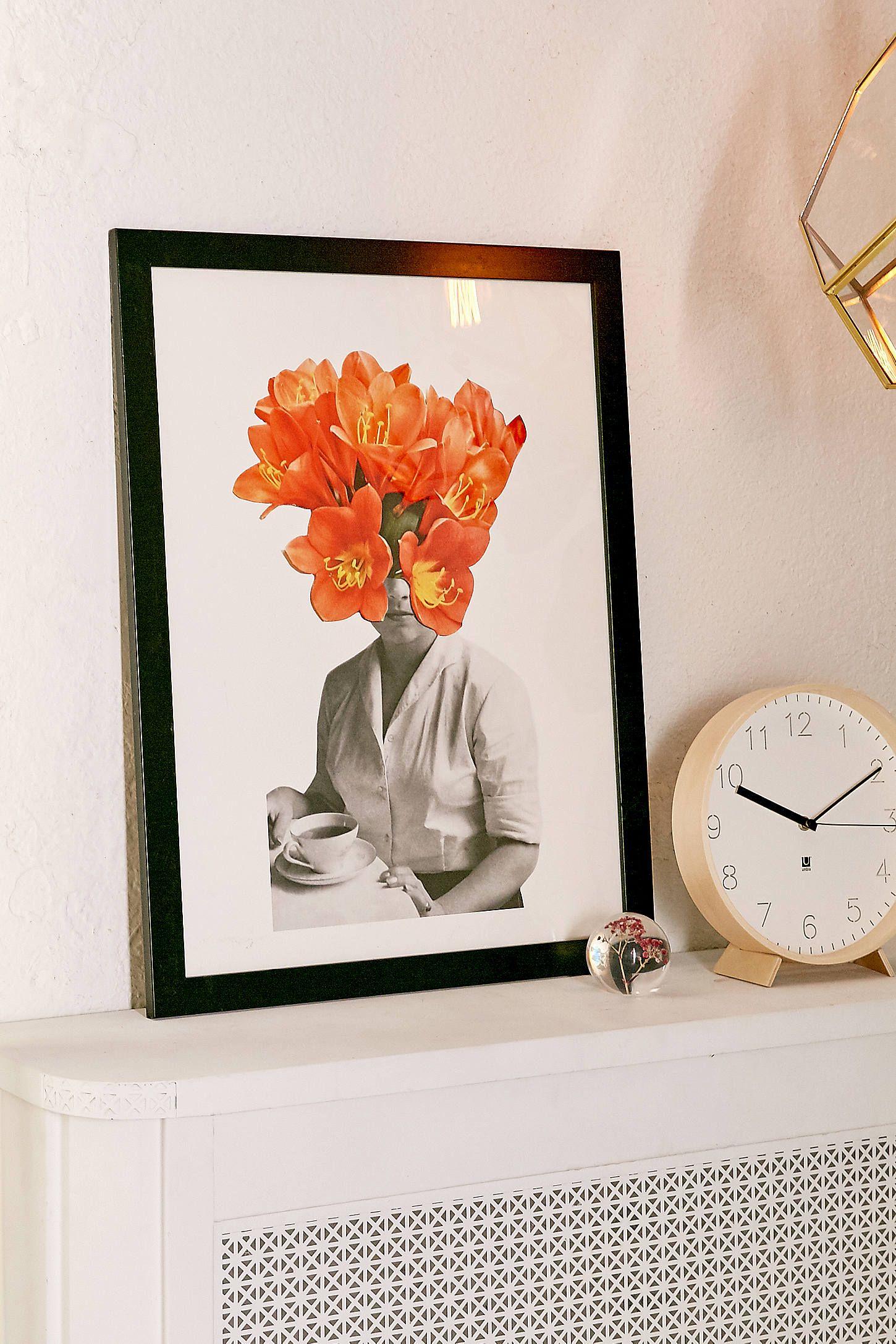 living room art prints%0A Hagar Vardimon Orange Art Print