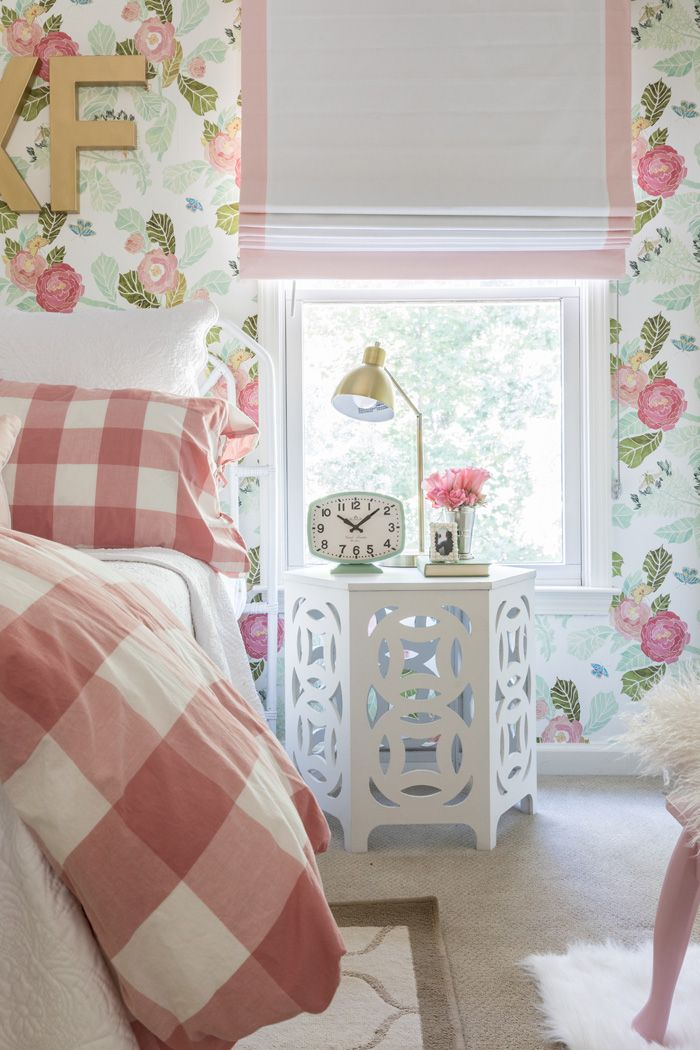 Best A Beloved Nursery Grows Up Big Girl Rooms Flower Wallpaper And Wallpaper 640 x 480