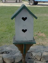 How can I keep my bird houses for the birds and not the yellow jackets?