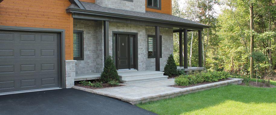 Amenagement paysager jardin facade maison recherche for Amenagement jardin paysager